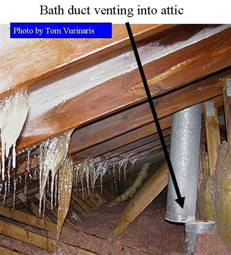 bathroom vents into attic attic improvements for higher comfort and efficiency all