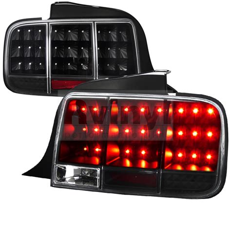 05 mustang sequential lights spec d tuning 174 ford mustang 2005 2009 sequential black led
