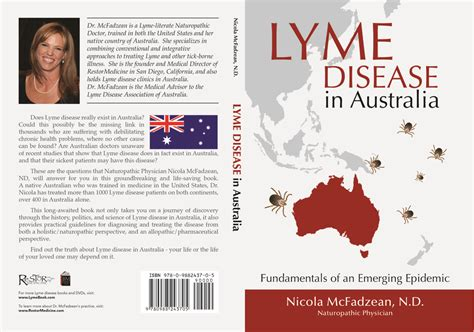 lyme disease takes on medicine books lyme disease in australia book by nicola mcfadzean nd