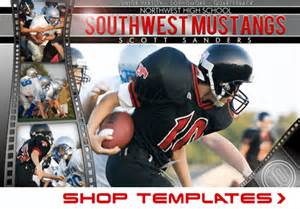 photoshop sports templates shop templates