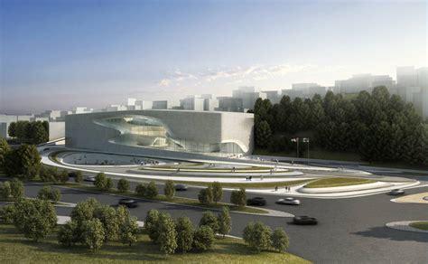 Architects House Plans King Abdullah Ii House Of Culture Amp Art Zaha Hadid