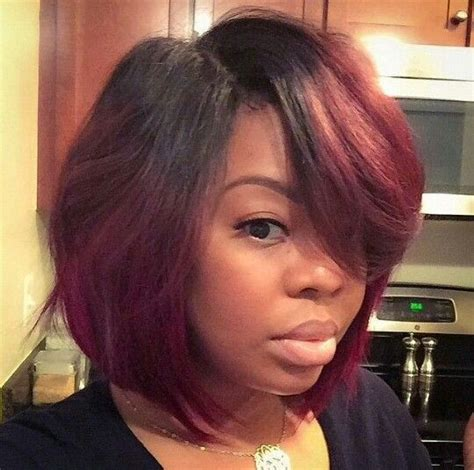 how to blow out bob haircut red bob lace wigs short straight hair virgin brazilian