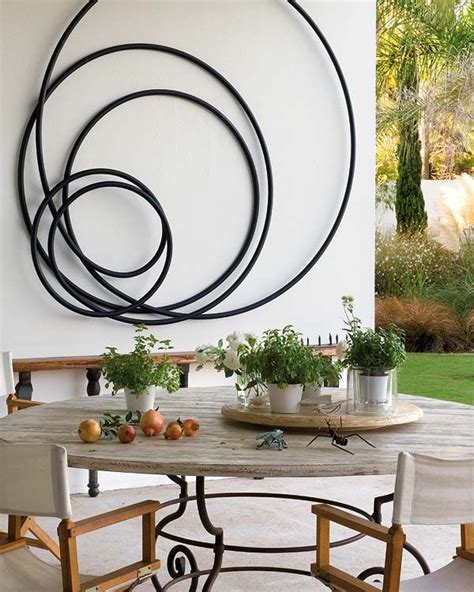 Wire Wall Home Decor by How To Beautify Your House Outdoor Wall D 233 Cor Ideas