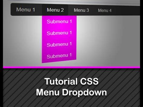 membuat menu dropdown membuat menu dropdown horizontal menggunakan css youtube