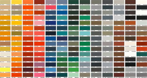 ral colors 1000 ideas about ral color chart on ral