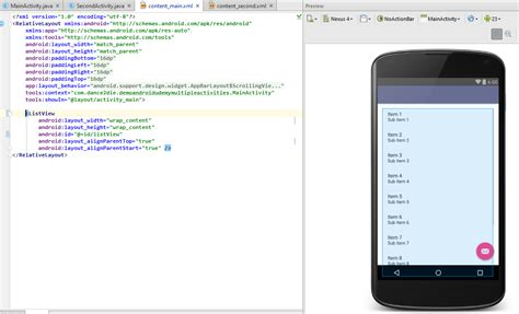 android studio layout behavior containers stretch beyond in android studio preview