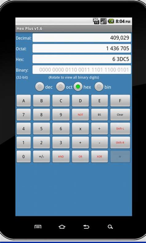 calculator hexadecimal convert decimal hexadecimal c program download free apps