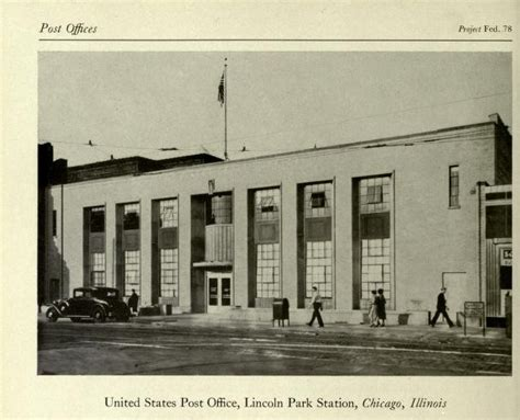Lincoln Park Post Office Hours by Lincoln Park Post Office Chicago Il Living New Deal