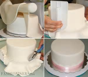 How To Decorate A Cake With Fondant cake decorating tutorial with fondant fashionisers