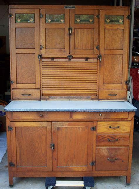 Hoosier Kitchen Cabinet by Mcdougall Hoosier Cabinet Oak Flour Sifter Sugar Jar