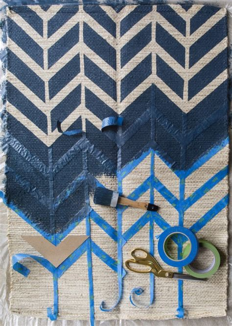 how to paint rugs bhg style spotters