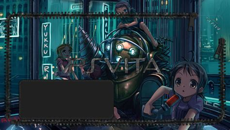 anime wallpaper hd ps vita bioshock anime version ps vita wallpapers free ps vita