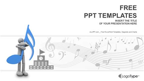 musical powerpoint templates schools education powerpoint templates
