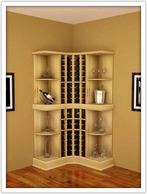 corner wine rack cabinet 29 creative places for wine cellars and racks in your home