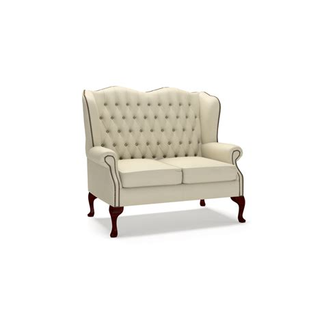 Sofa Wing Klasik classic 2 seater sofa from timeless chesterfields uk