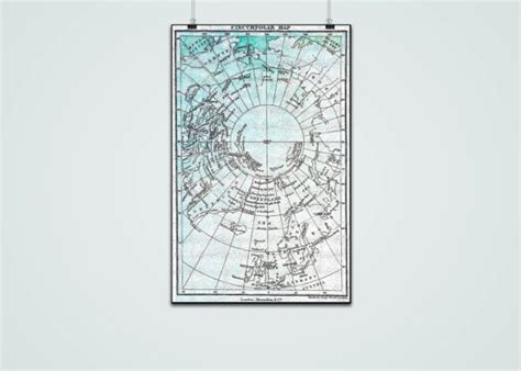 copyright free maps for commercial use vintage pole map commercial use ok pole map