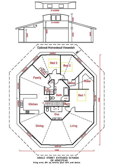 hexagon house floor plans hexagon house design plans house design plans