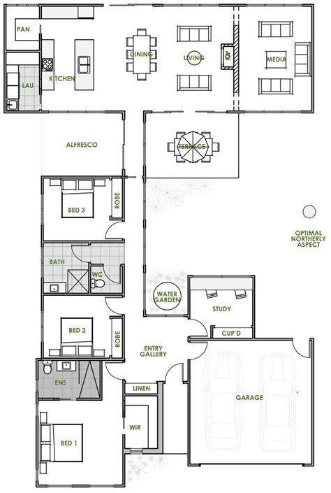 most efficient floor plans 25 best ideas about energy efficient homes on pinterest