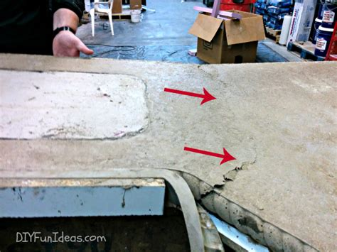 How To Make Concrete Countertops by Grouting And Sealing Diy Concrete Countertops