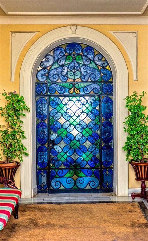 2000 door glass blue stained glass door www pixshark images