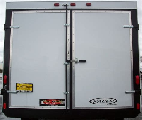 Trailer Back Door by Carson Enclosed Upgrade Options Pac West Trailers