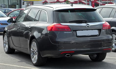 opel cosmo file opel insignia sports tourer 2 0 cdti cosmo rear
