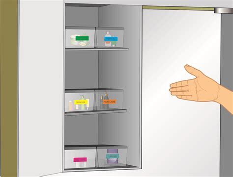 how to organize bathroom cabinets 7 steps with pictures