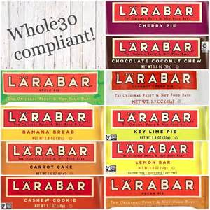 Whole30 approved larabars