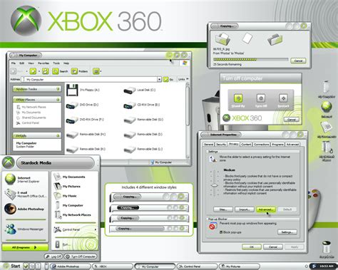 download windows 8 theme xbox 360 xbox 360 theme for windows arne360