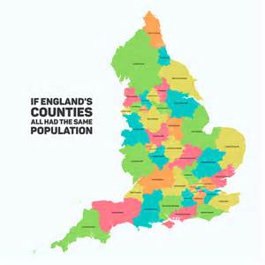 if s counties all had the same population by