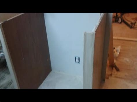 How To Build A Cabinet Around A Dishwasher by How To Install Dishwasher End Panel Step By Step