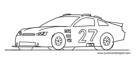 how to draw paint cars books draw a cool nascar racer for junior car designer