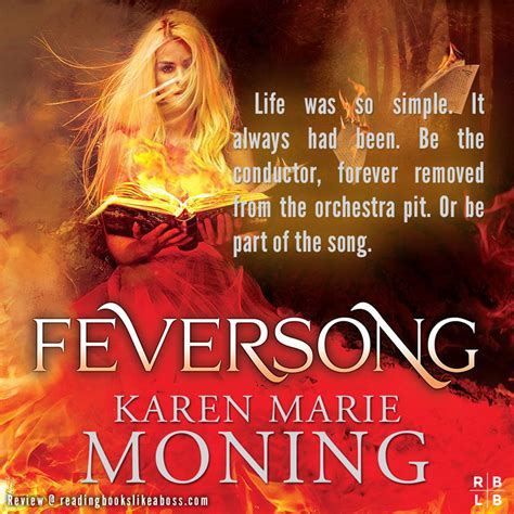 feversong books book review feversong by moning reading