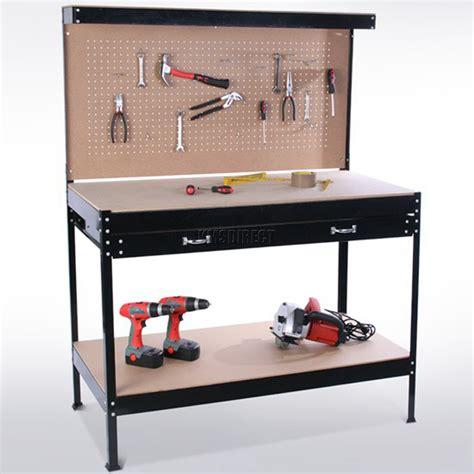 metal storage bench uk westwood steel garage tool box work bench storage pegboard