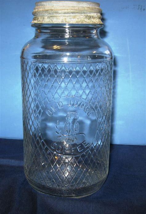 Old Judge Coffee Jar   BOTTLES & JARS   Pinterest   Coffee