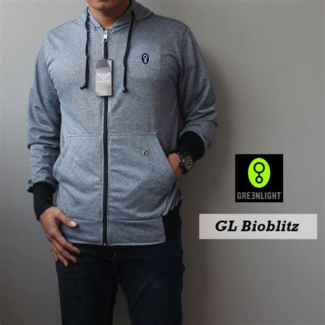 Fila Hoodie Cowok by Jaket Greenlight Blue Black Jaket Sch Jaket Casual