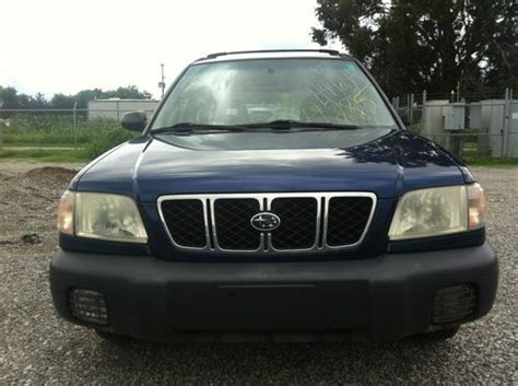 2001 subaru forester vin jf1sf63571h716114 autodetective com find used 2001 subaru forester l wagon 4 door 2 5l minor salvage title in louisville kentucky