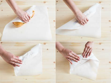 How To Make A Paper Wrap - how to wrap your sandwiches for better on the go