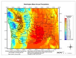 oregon rainfall map mgs engineering consultants inc precipitation