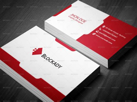 color business card templates 2 colors creative business card template v 2 by kazierfan