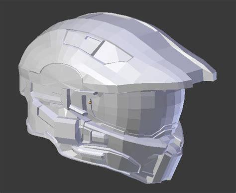 Papercraft Halo Helmet - halo 4 helmet by kingrahl on deviantart