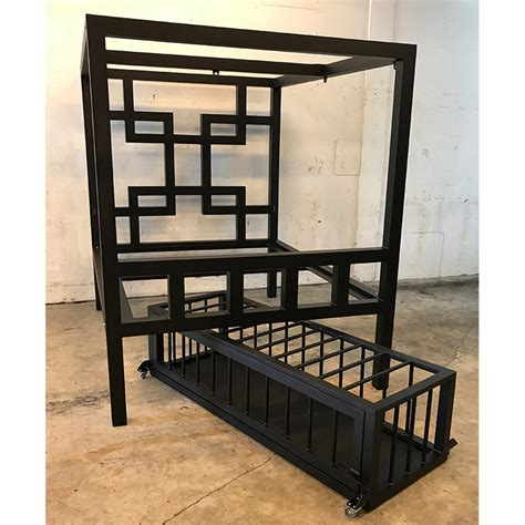 bed cage asian pain bed w low profile cage