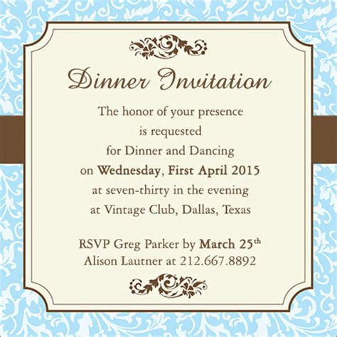 Work Invitation Template 9 work dinner invitations free sle exle format