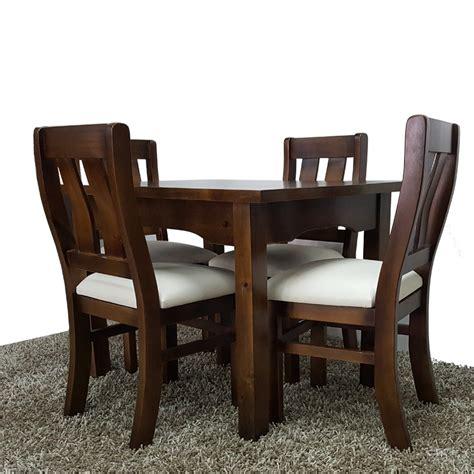 juego comedor  cocina de  sillas  madera maciza gh