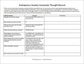 printables automatic thoughts worksheet followersblast