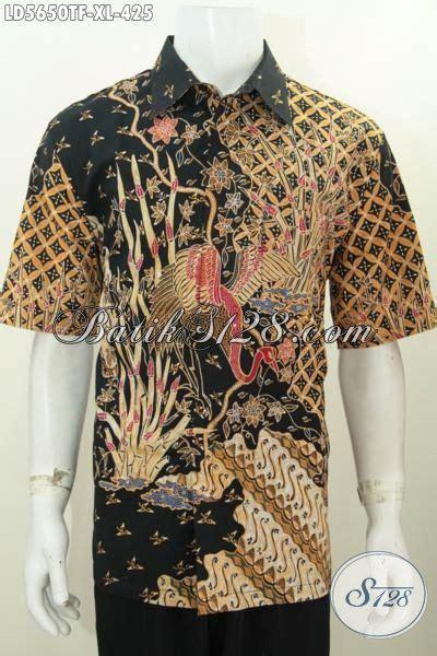 Kemeja Batik Pria Modern Mewah Baju Kantor Elegan Pendek Dk17 kemeja batik ukuran xl produk baju batik mewah elegan