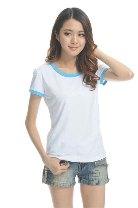 Kaos T Shirt Wanita Cewe Semangka kaos polos katun wanita o neck size s 86201 t shirt green jakartanotebook