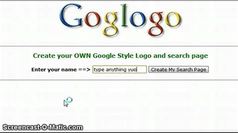 how to make your own blog image search results how to make your name on google logo only on goglogo