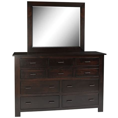 shaker style dresser with mirror dresser with mirror optional wide chest of drawers in