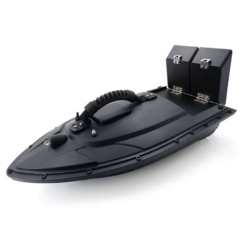 flytec rc fishing boat flytec 5 generation rc boat black